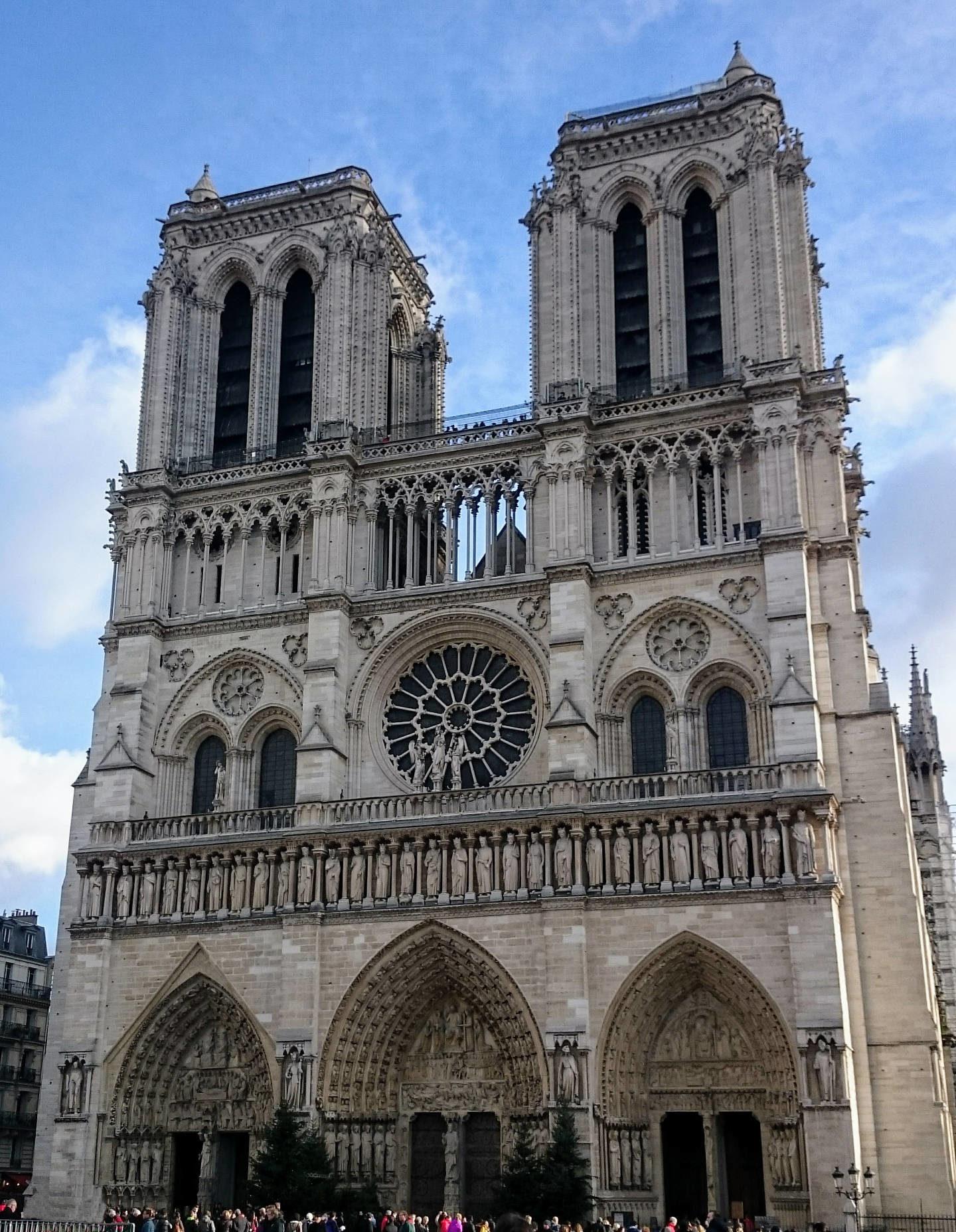 Francie a Belgie – Vánoční Paříž (1)