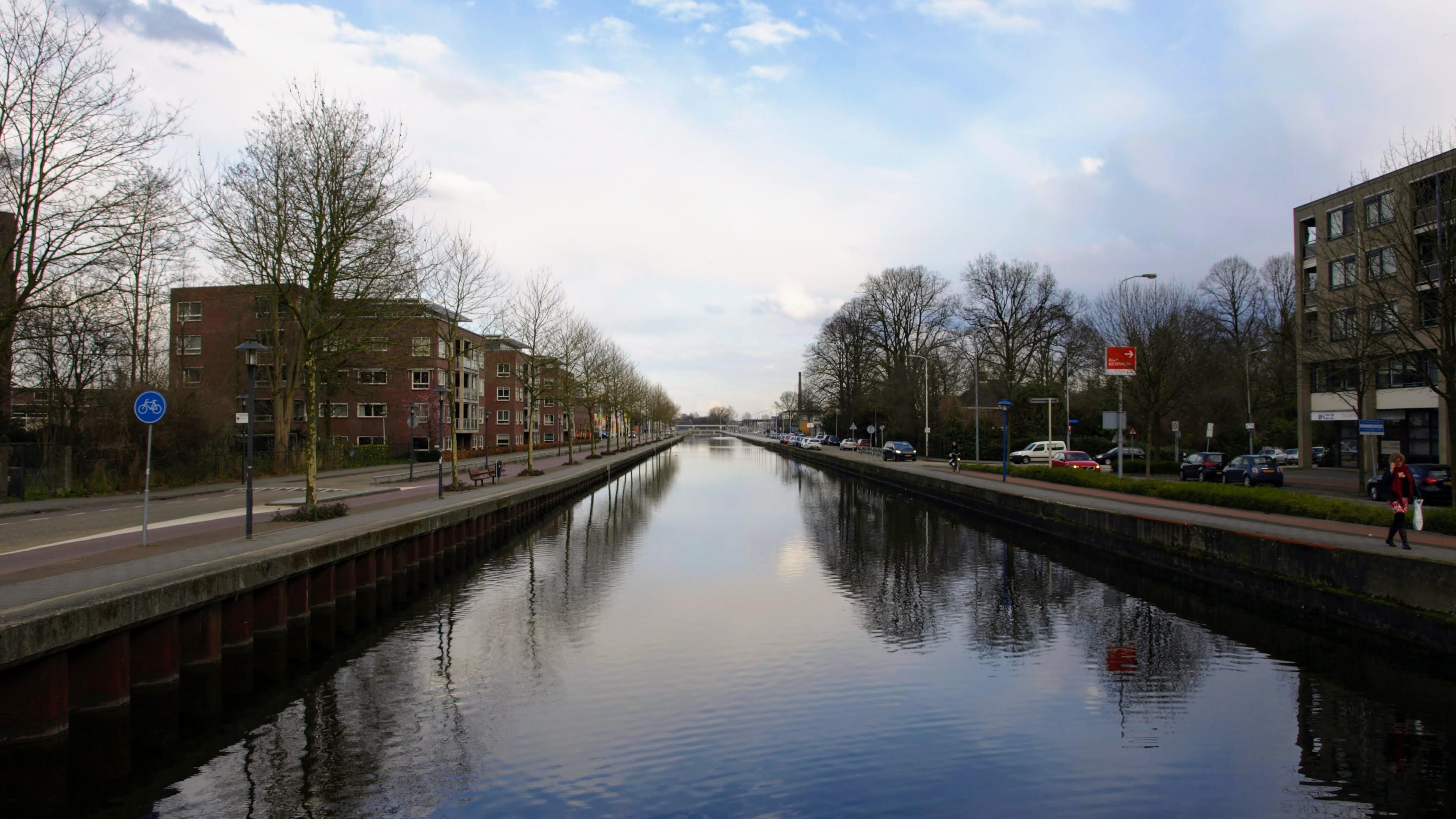 Kanál ve městě Eindhoven