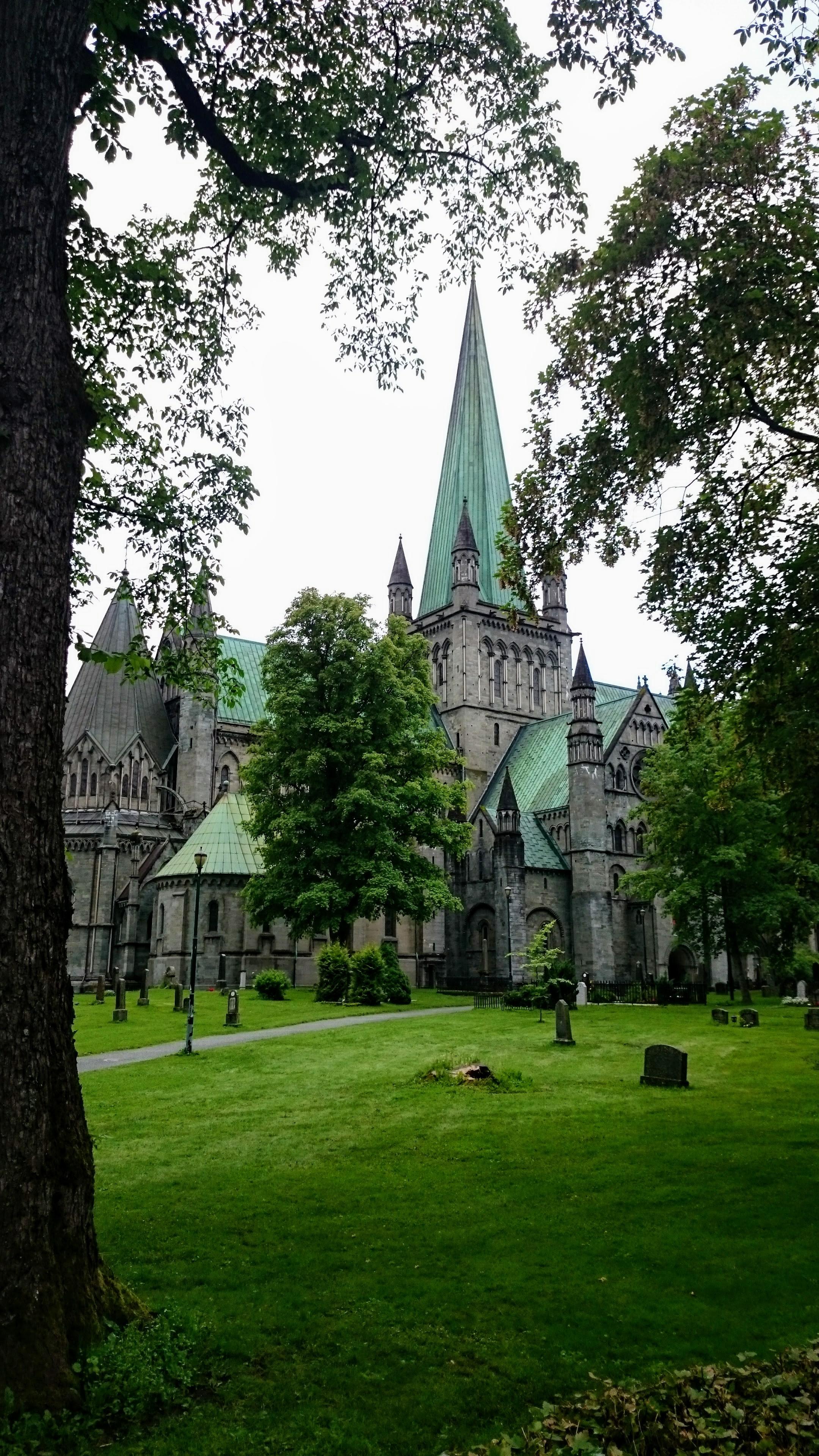 Nidaroský dóm v Trondheimu