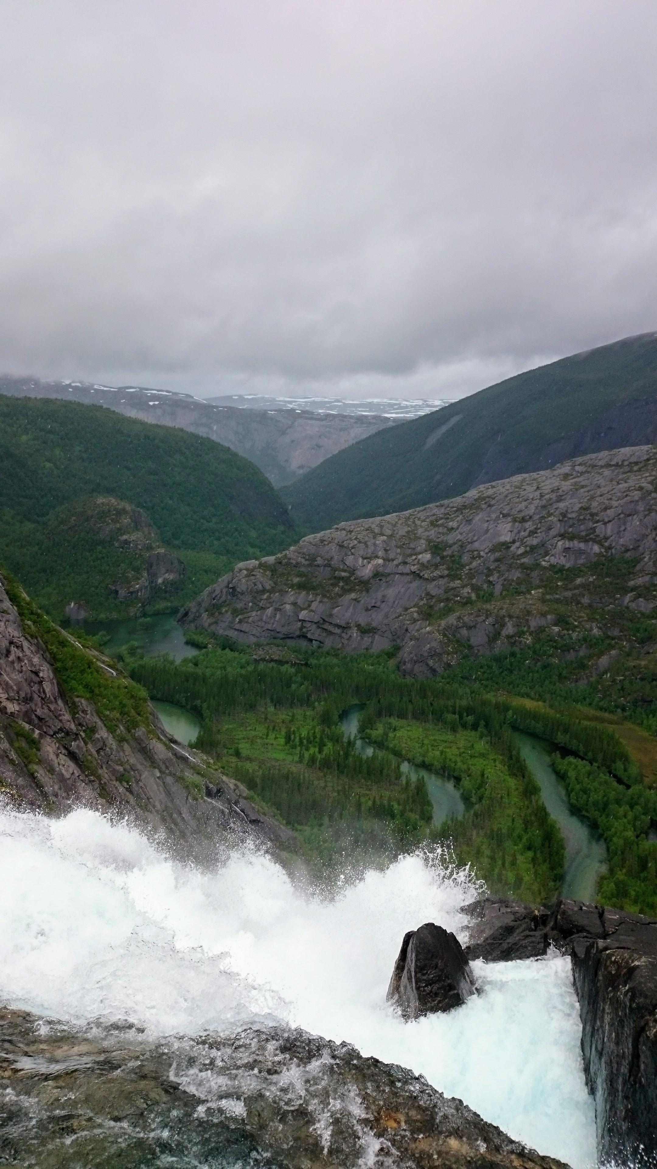 Vodopád v národním parku Rago