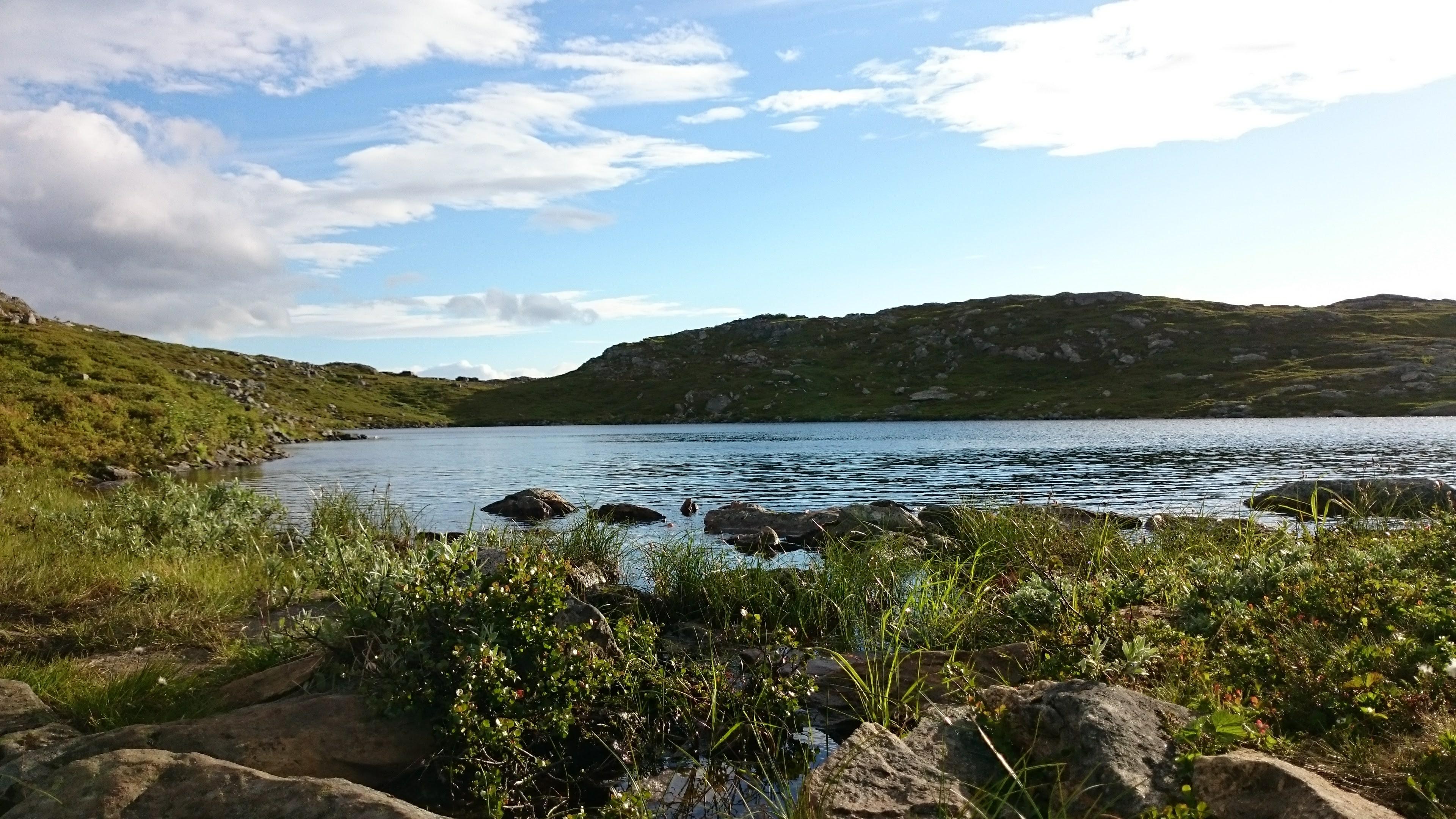 U jezera Keipvatnen