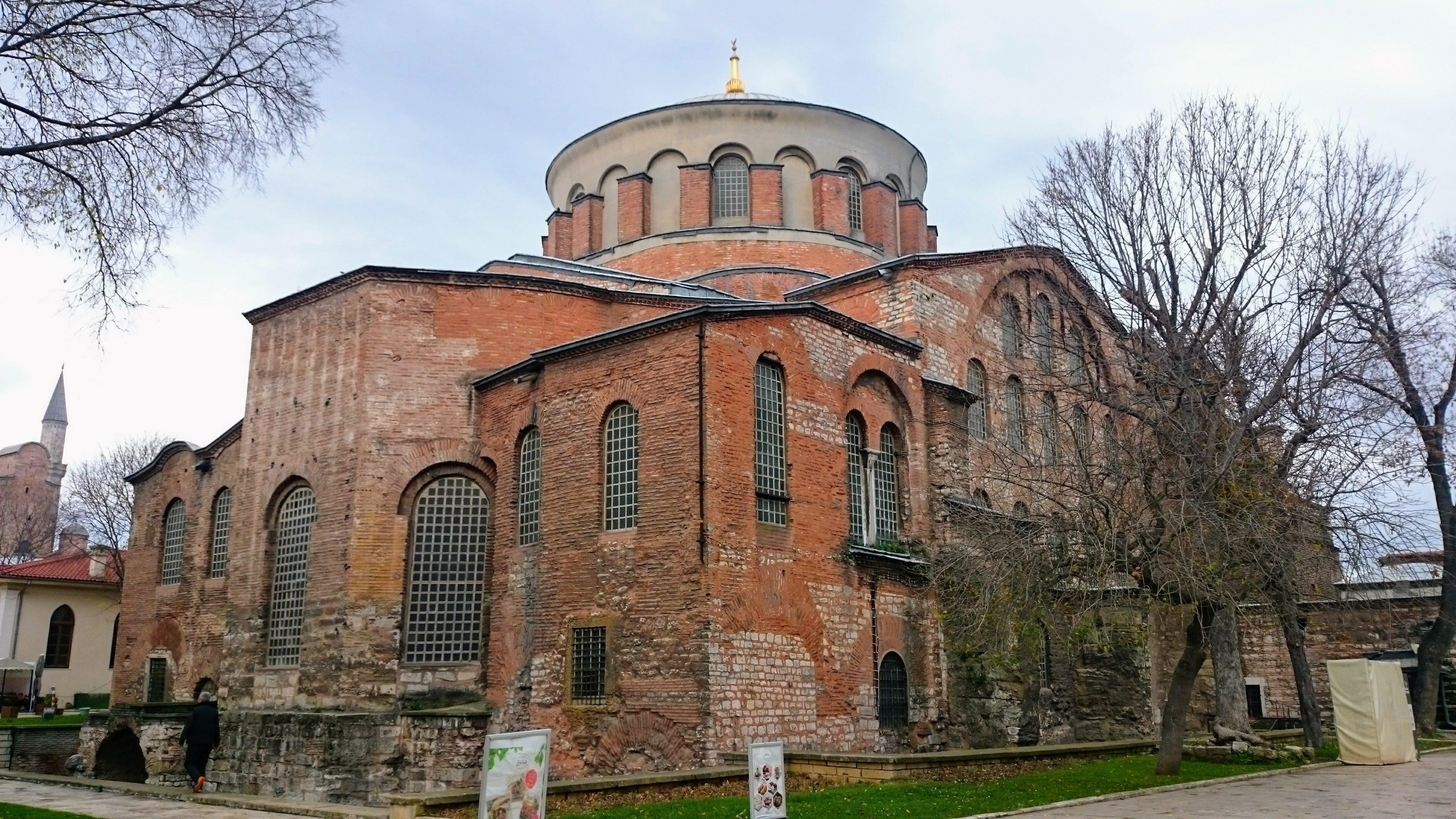 Byzantský kostel Hagia Irine