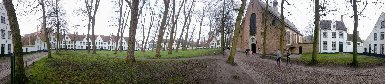 Čtvrť, která bývala obydlena Bekyněmi
