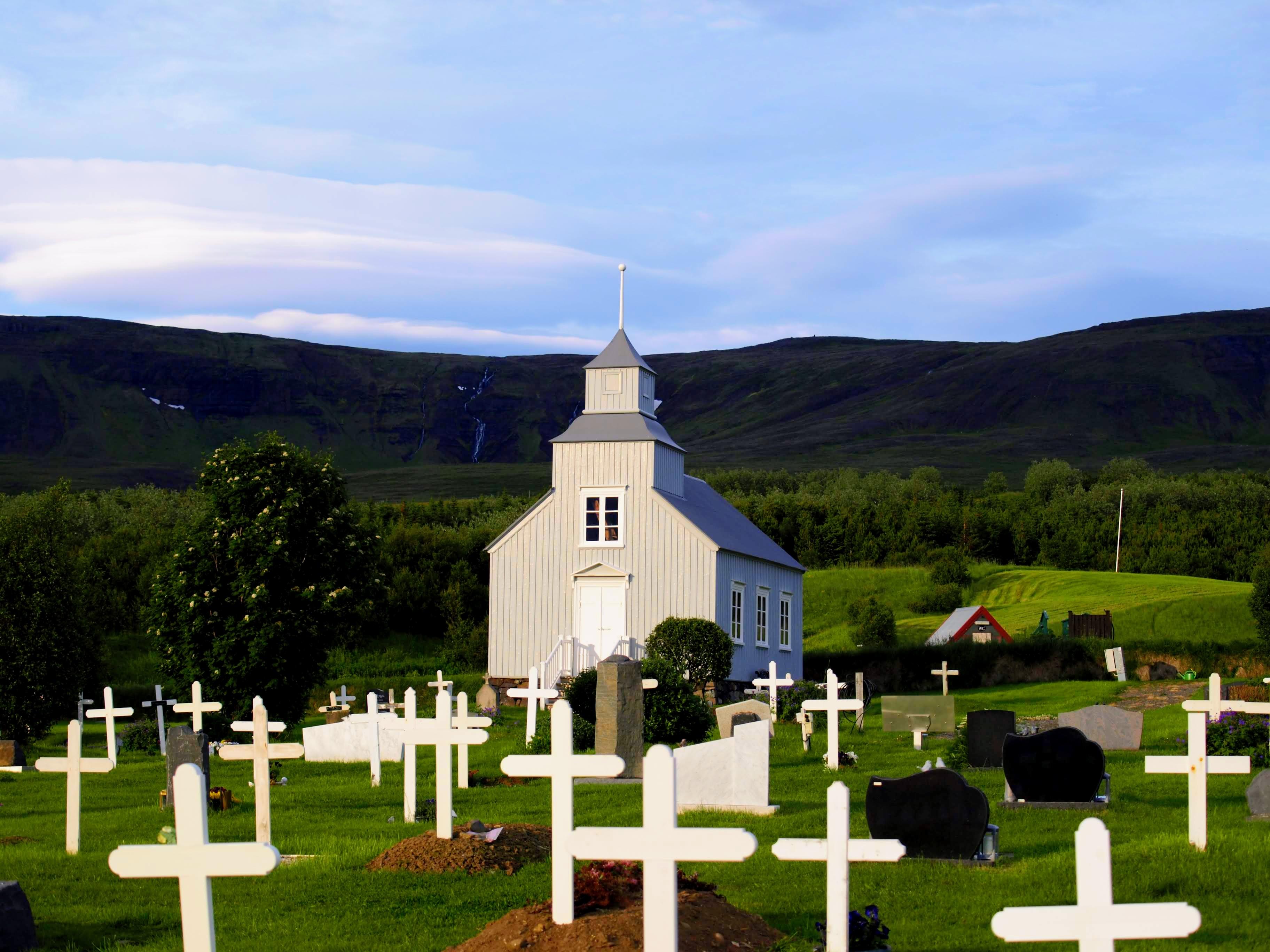 Kostelík v Hvammstangi