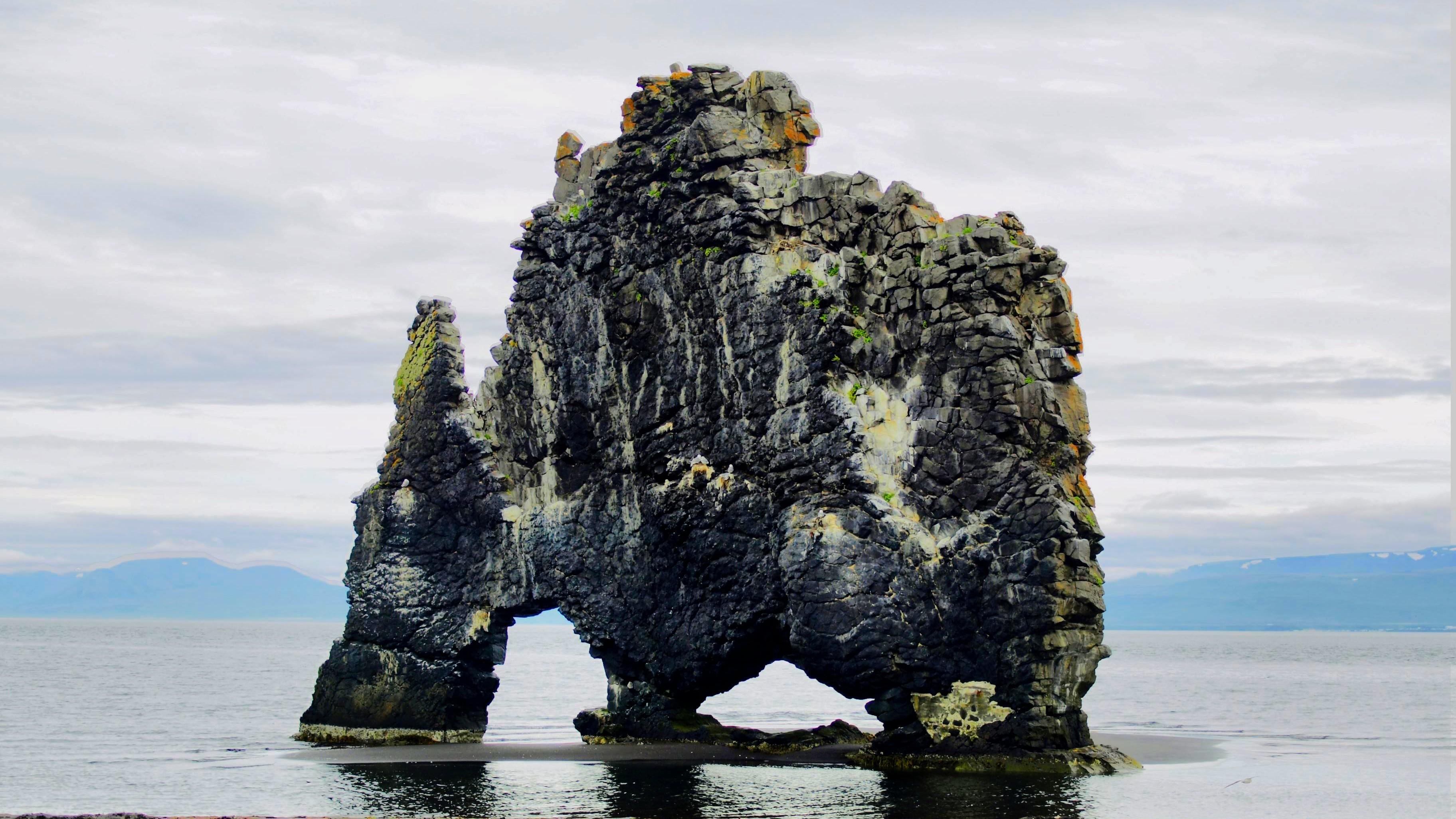 Kamenný útvar Hvítserkur