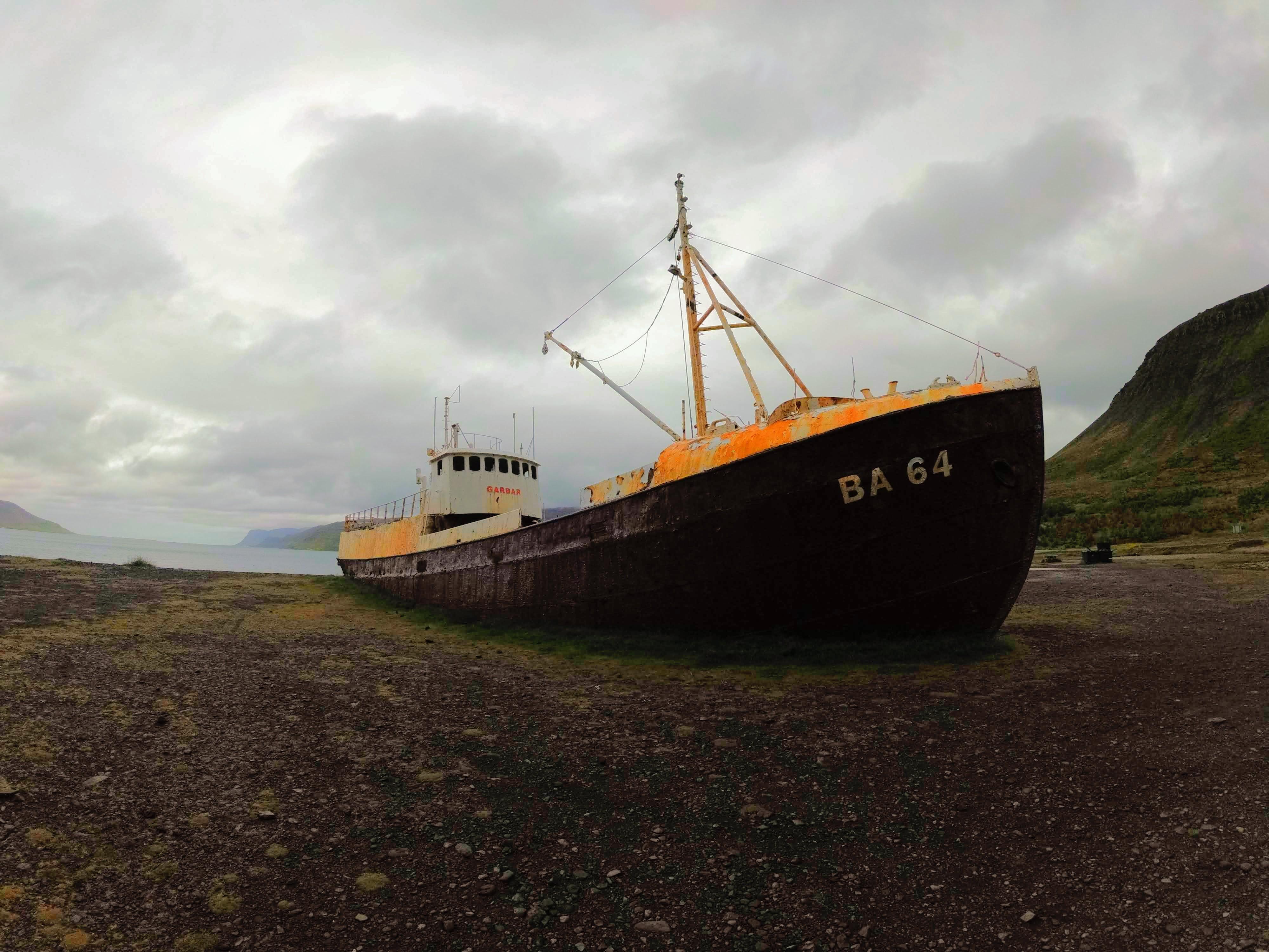 Vrak lodi BA 64