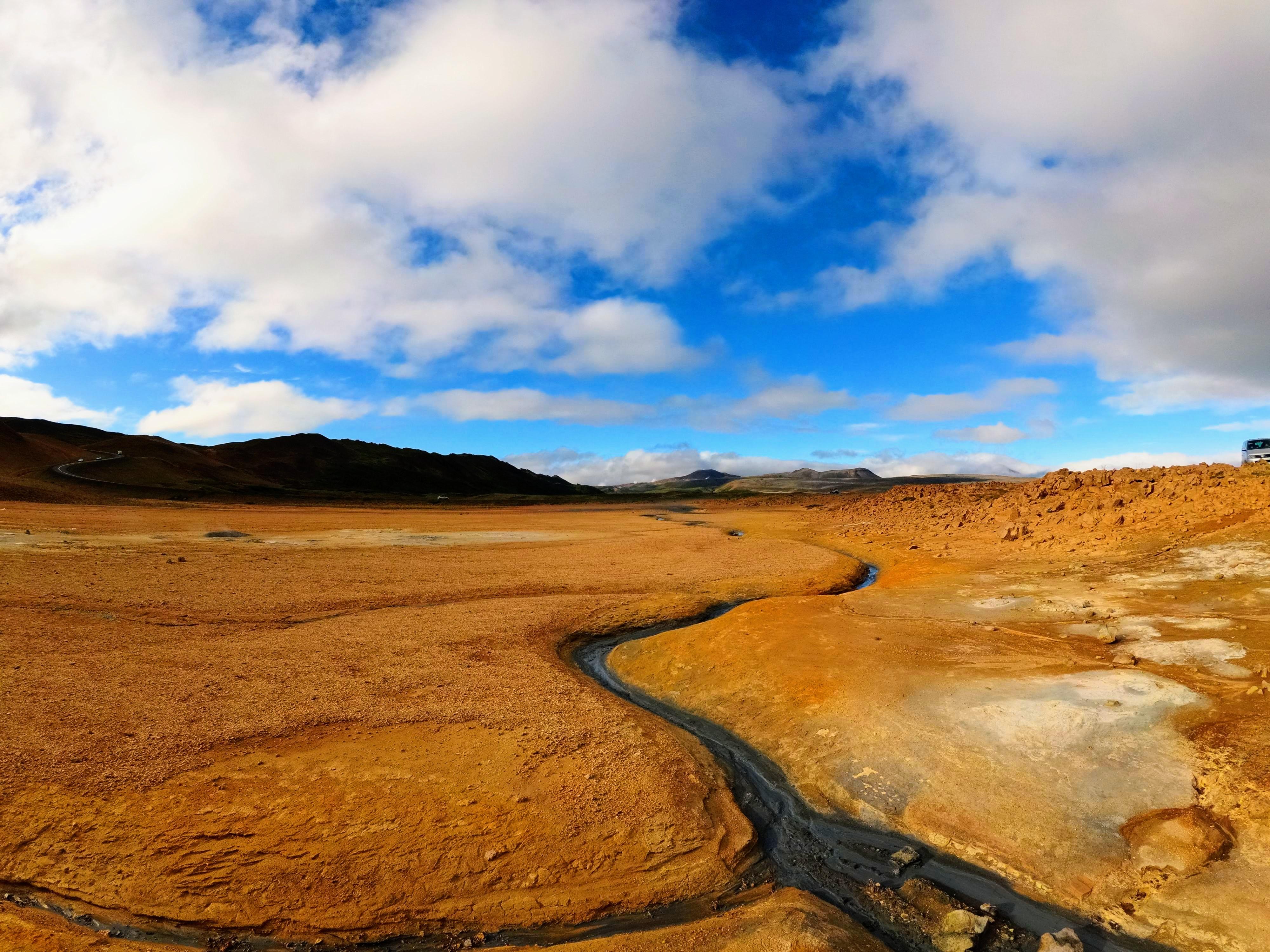 Vulkanická oblast Hverir