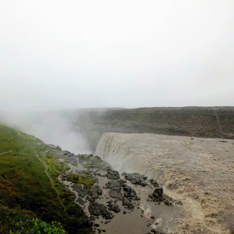 Dettifoss, nejmohutnější vodopád v Evropě