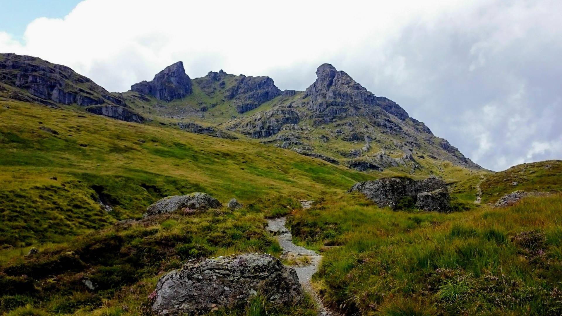 Cesta na vrchol Ben Arthur