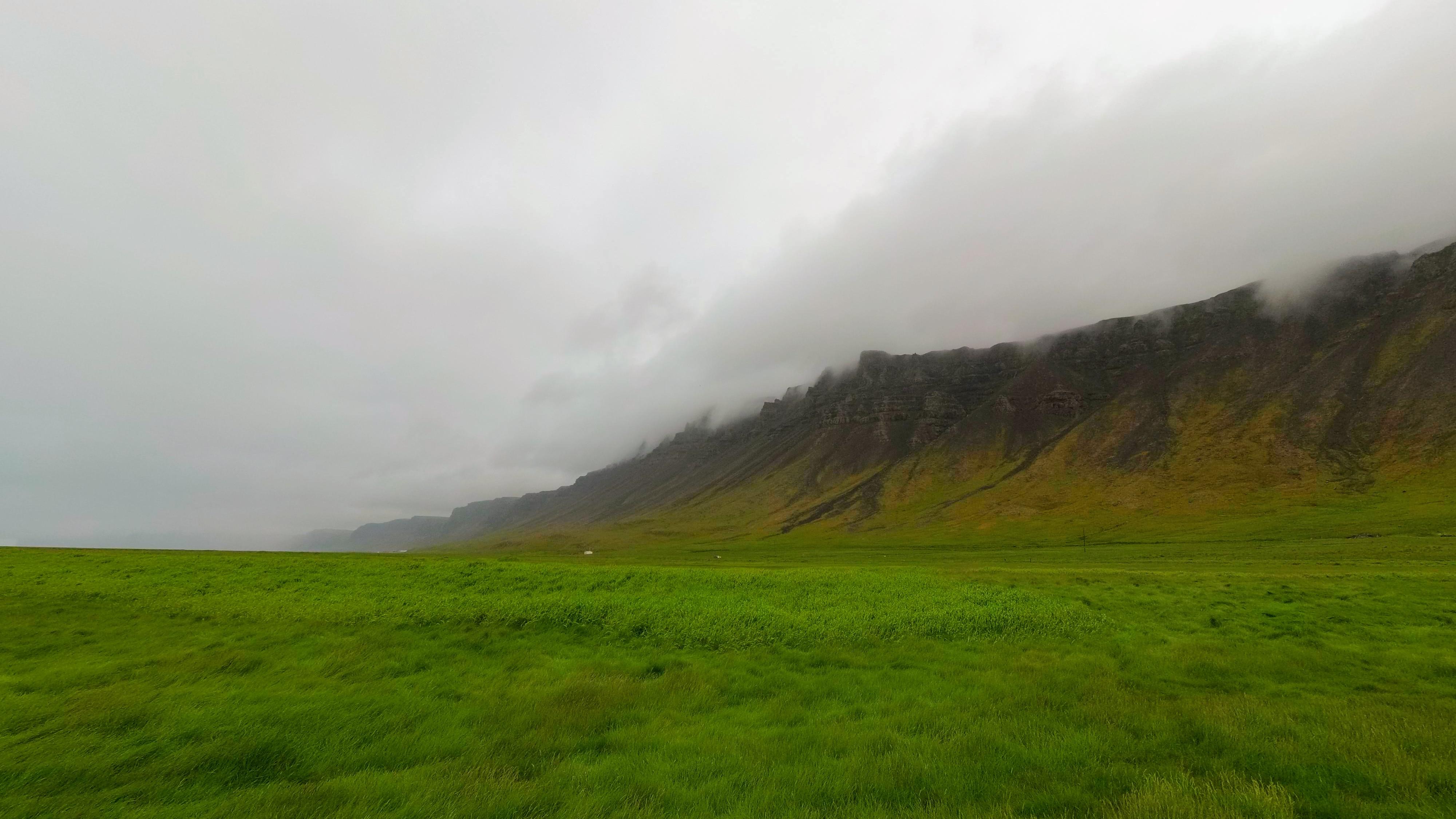 Hrozivé skály u pláže Rauðisandur