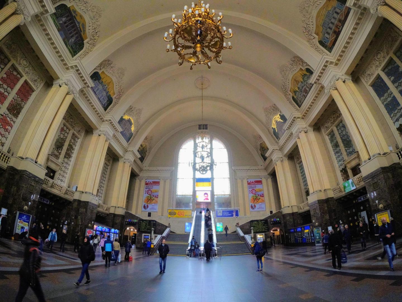 Vlakové nádraží v Kyjevě