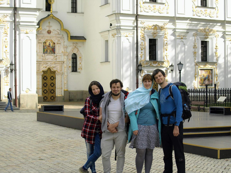 Naše výprava, Kyjevskopečerská lávra