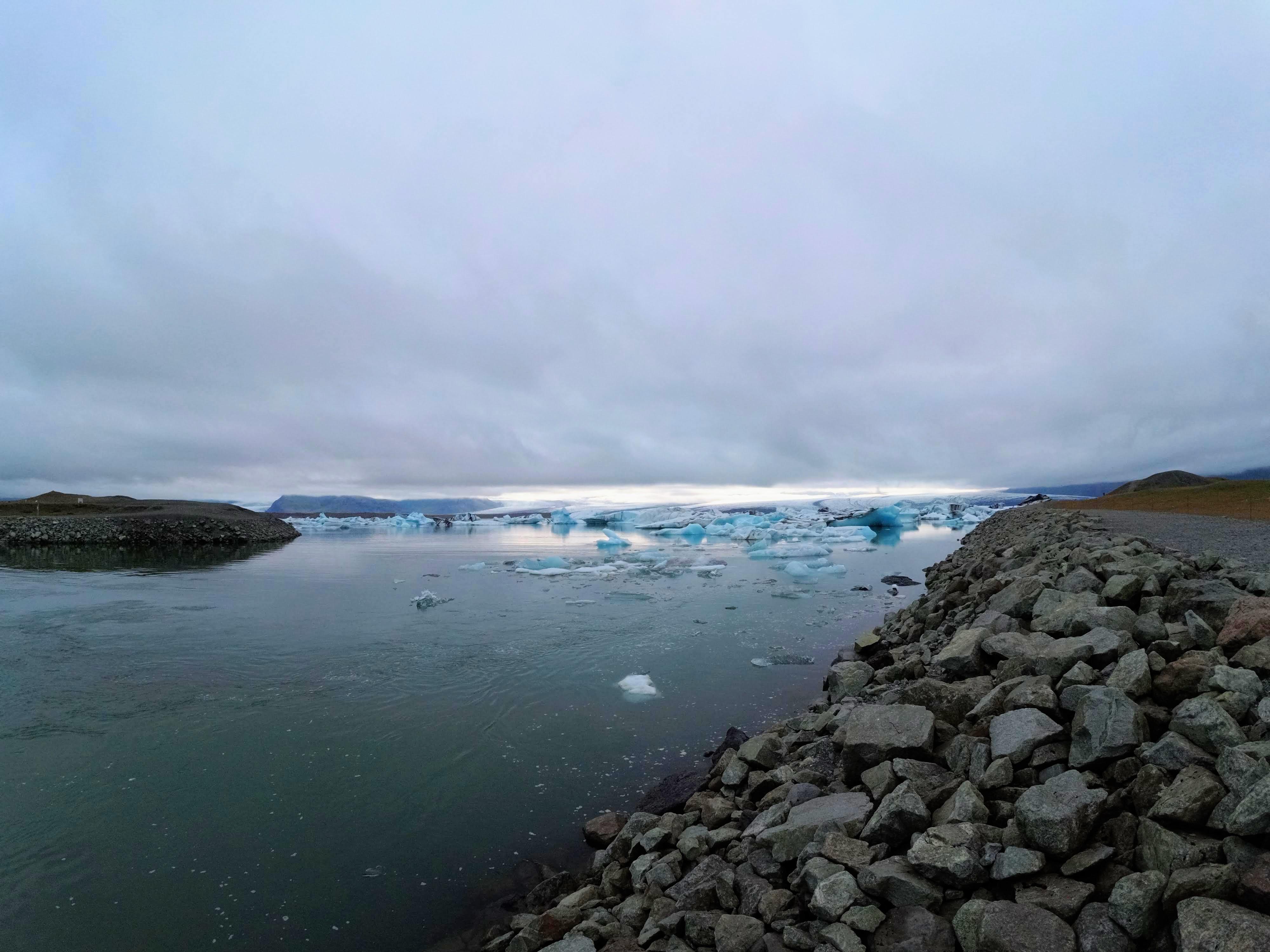 Splaz ledovce Vatnajökull