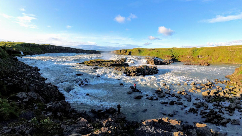 Vodopád Urriðafoss