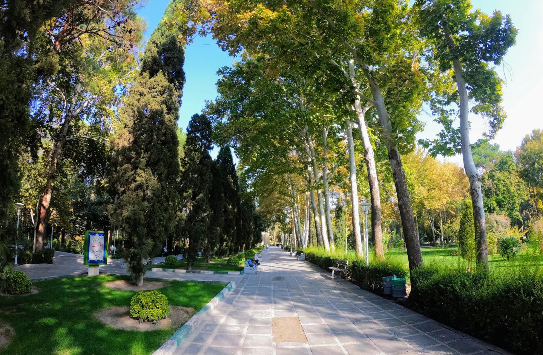 Zahrady v Isfahánu
