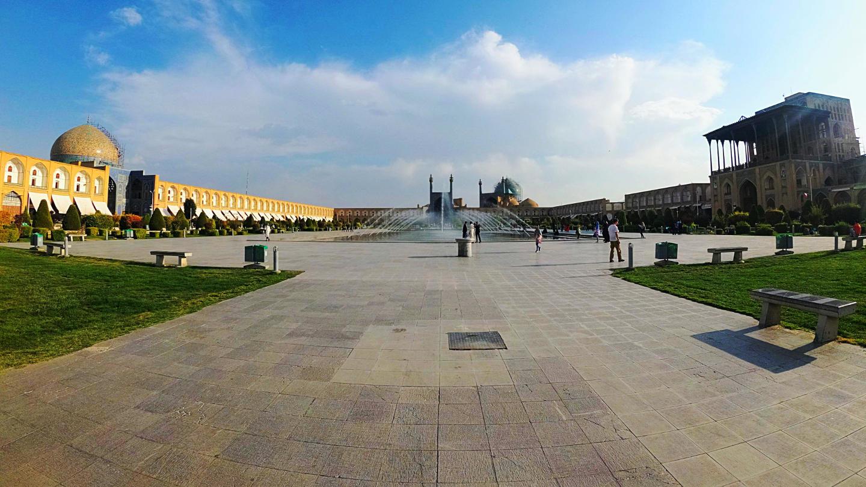 Obrovské náměstí Nakš-e džahán