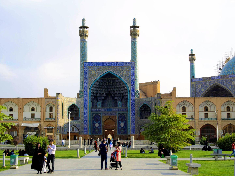 Šáhova mešita, Isfahán