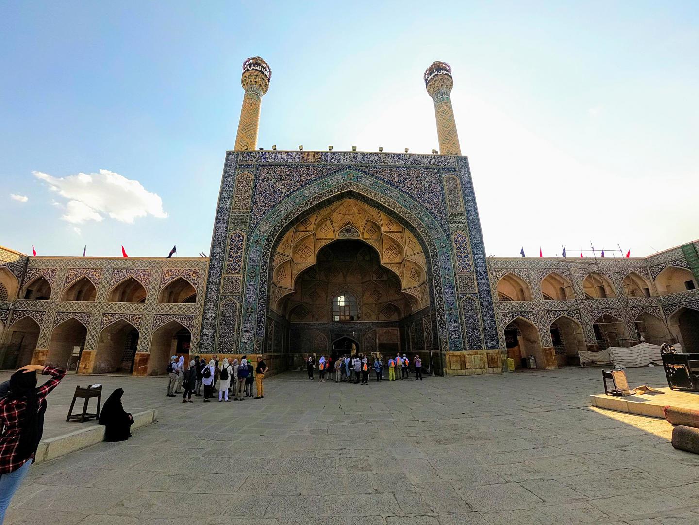 Jamehova mešita, Isfahán