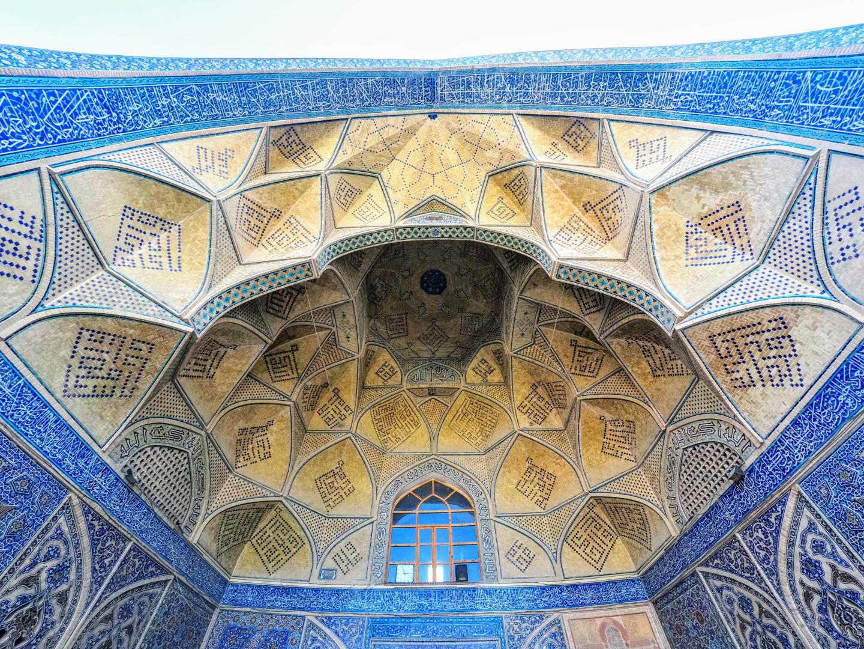Klenby v Jamehově mešitě