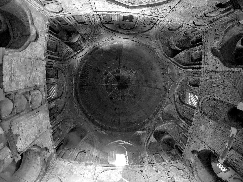 Kupole v Jamehově mešitě