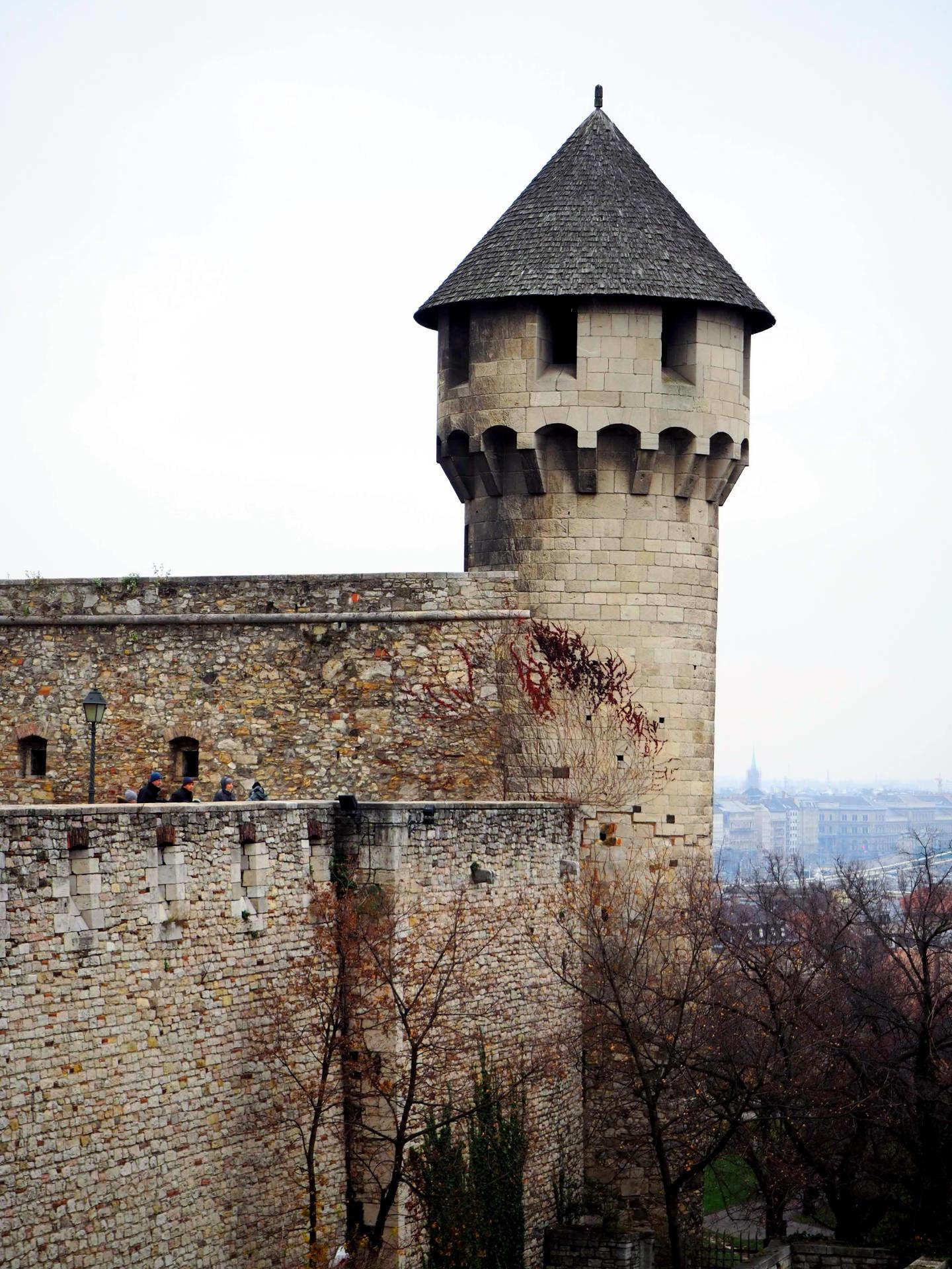 Věž Budínského hradu