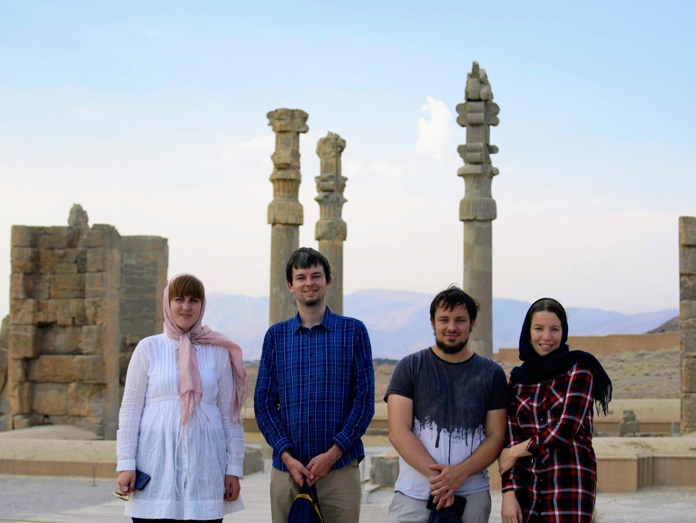 Naše výprava v Persepolis