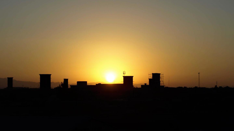 Východ slunce nad Jazdem