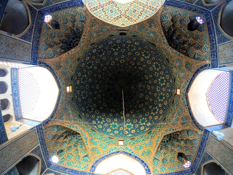 Jamehova mešita, Jazd