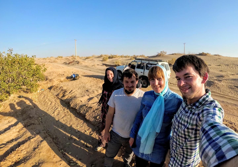 Vyrážíme do pouště