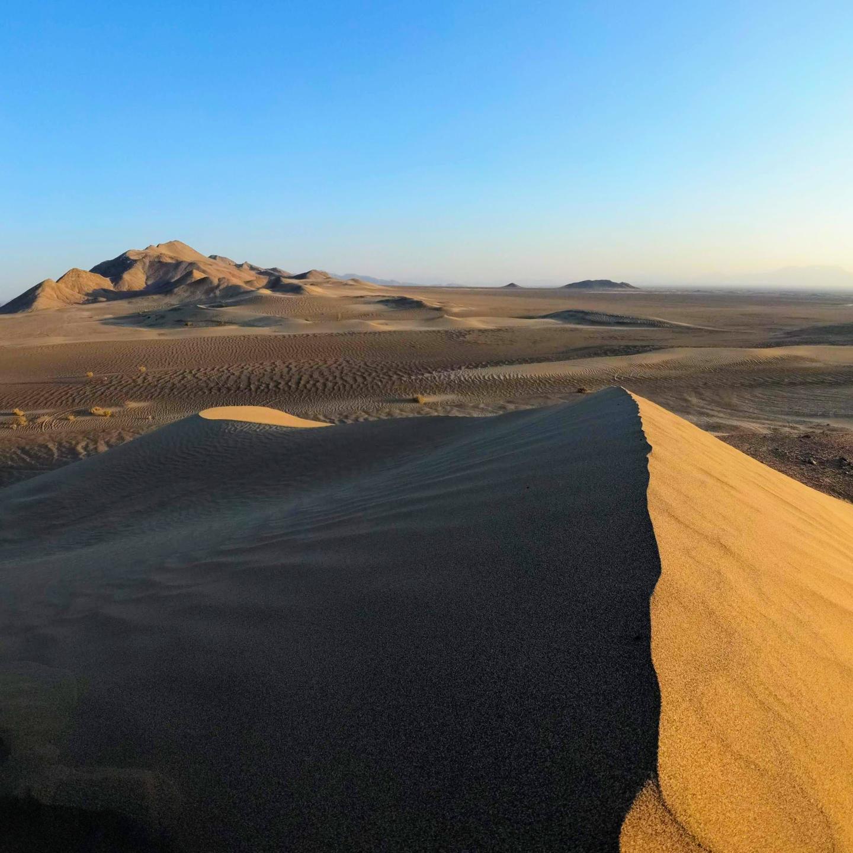 Duny v poušti