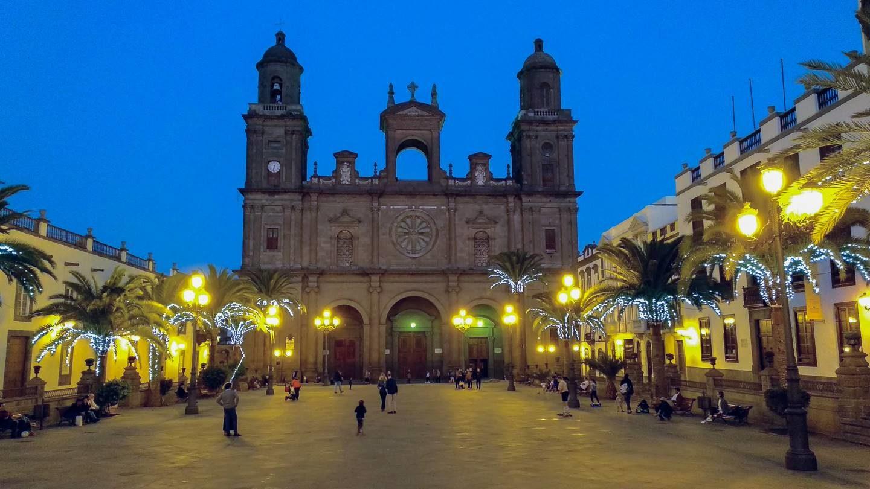 Náměstí před katedrálou sv. Anny, Las Palmas
