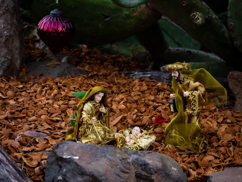 Miniaturní betlém pod kaktusem, Tejeda
