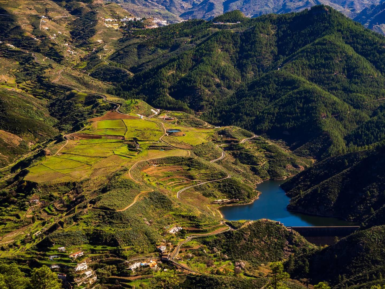 Výhled z hory Tamabada