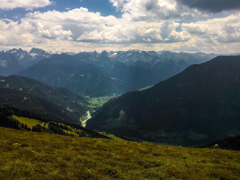 Výhled z Glanderspitze