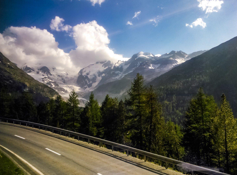 Vlakem do Alp – Švýcarsko a zpoždění (2)