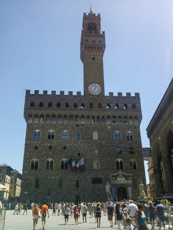 Palazzo Vecchio ve Florencii