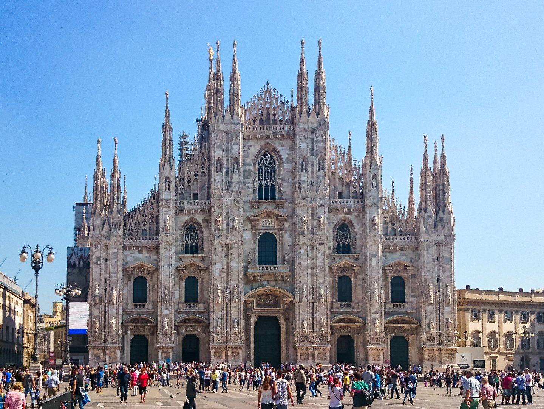 Katedrála Narození Panny Marie v Milánu