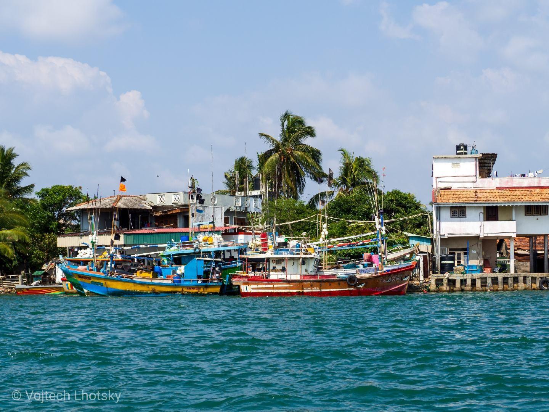 Srí Lanka – Laguna v Negombu (1)