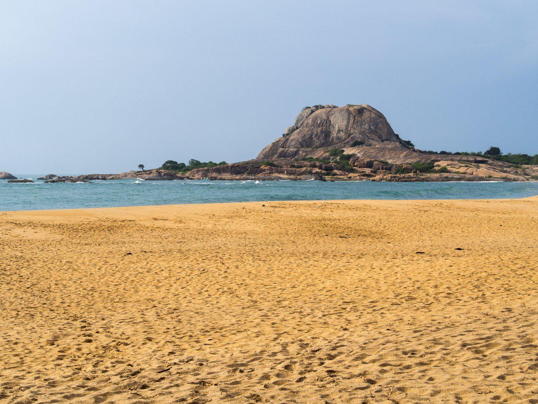 Nádherná pláž v NP Yala