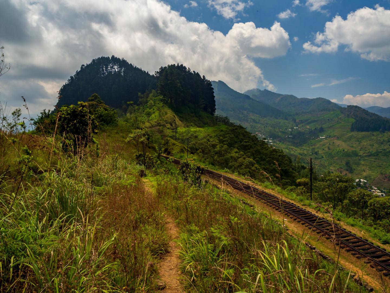 Srí Lanka – Horská železnice (7)
