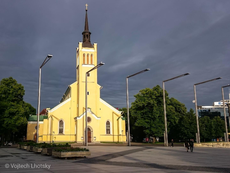 Kostel v Tallinnu