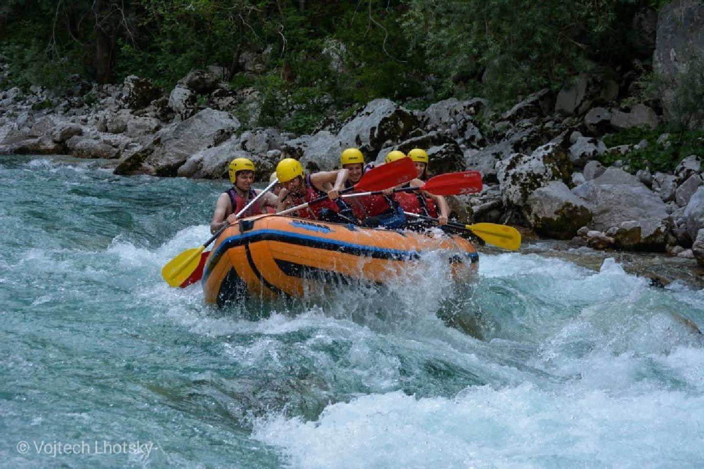 Raft na řece Soča