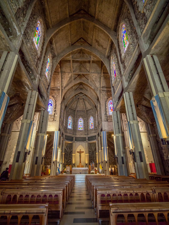 Katedrála v Bariloche
