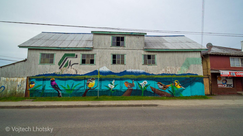 Streetart v Llanquihue