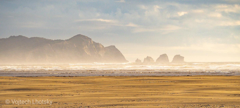 Pacifické pobřeží v NP Chiloé