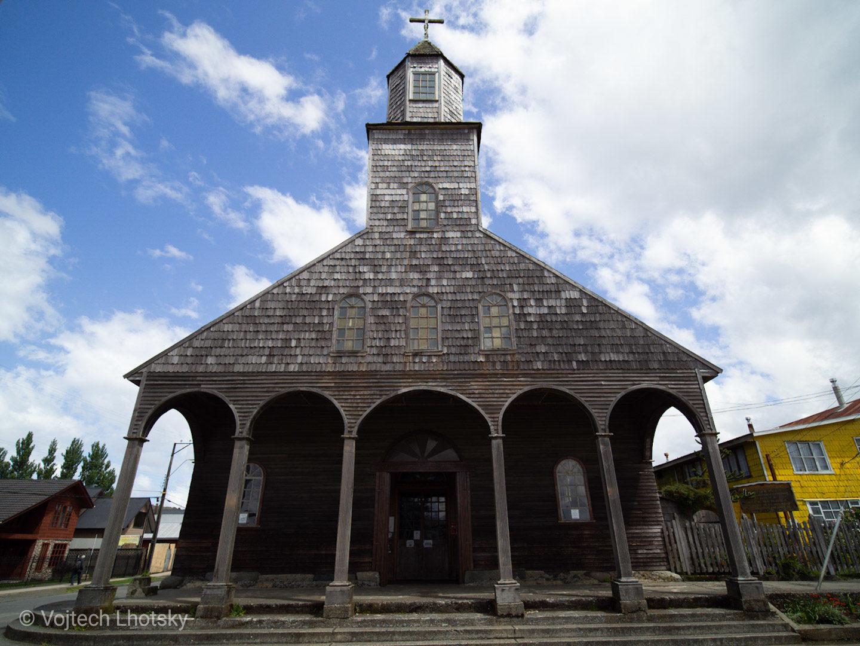 Santa María de Loreto, Achao