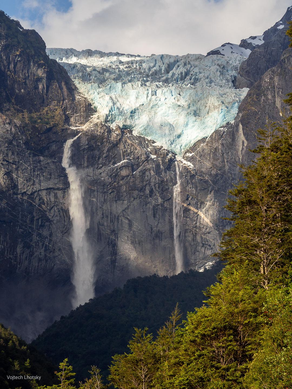 Ledovec Ventisquero Colgante, NP Queulat