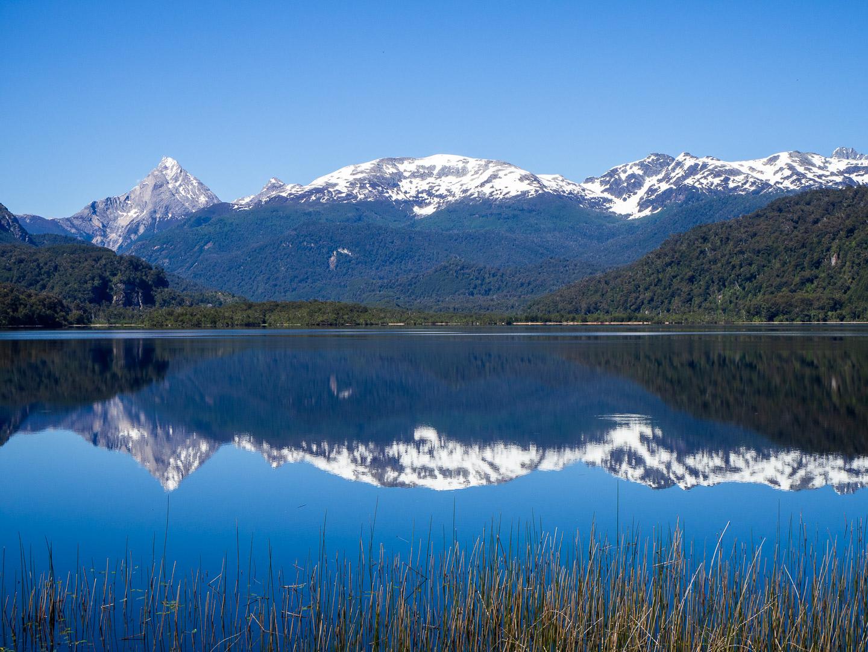 Jezero u silnice Carretera Austral