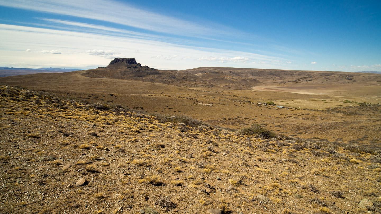 Patagonská step