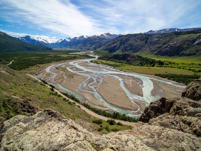 Río de Las Vueltas, El Chaltén